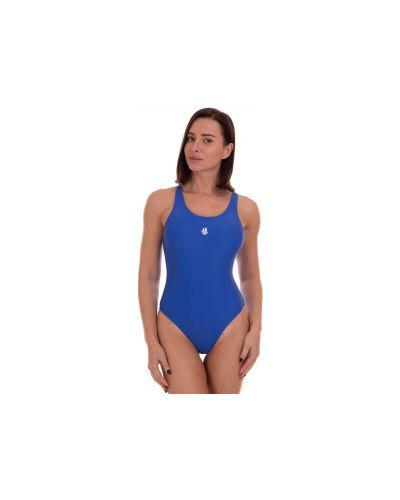 Синий слитный купальник Madwave