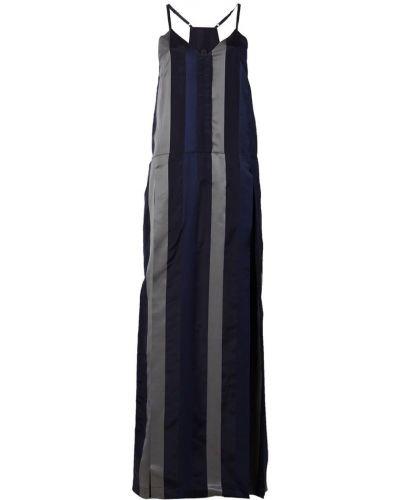 Платье на бретелях синее Ilaria Nistri