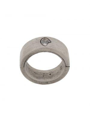 Pierścień ze srebra brązowy Parts Of Four