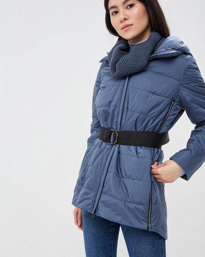 Синяя теплая утепленная куртка Winterra