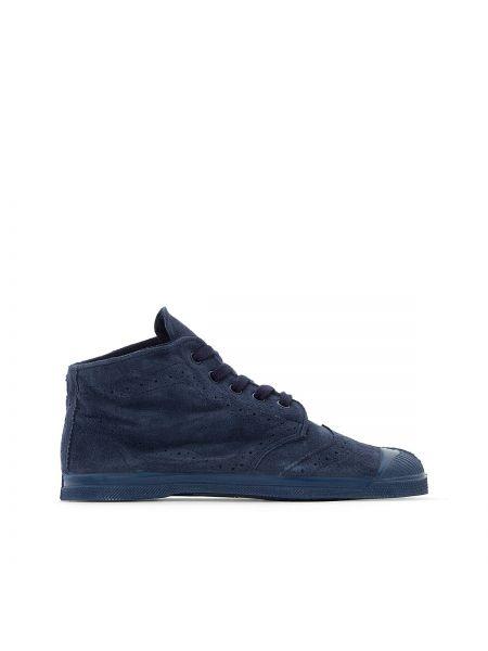 Высокие кроссовки на шнуровке Bensimon
