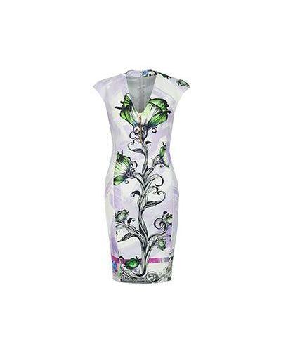 Хлопковое платье - фиолетовое Versace Collection