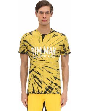 Żółty t-shirt Dim Mak Collection