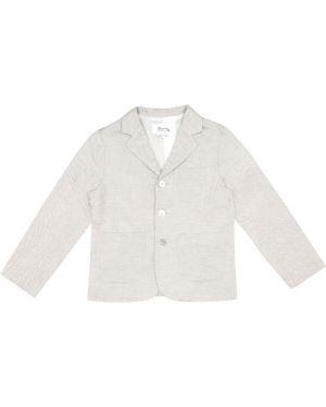 Светло-серая куртка Bonpoint
