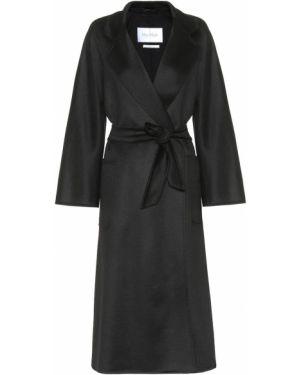 Пальто кашемировое черное Max Mara