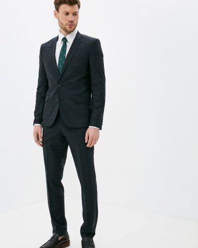 Костюмный черный костюм классический Bazioni