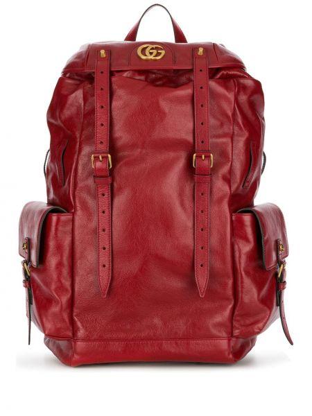 Plecak skórzany na ramieniu Gucci