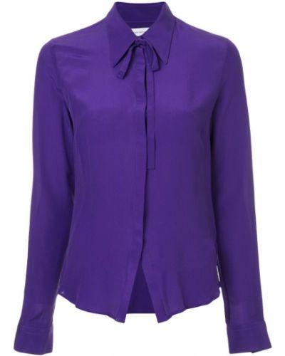 Рубашка с длинным рукавом фиолетовый на пуговицах Costume National