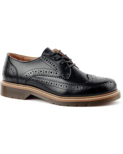 Кожаные туфли осенние Bronx