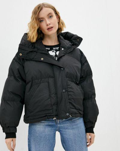 Черная куртка утепленная Fresh Cotton