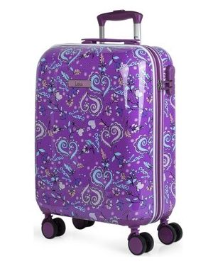 Fioletowa walizka Lois