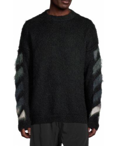 Biały włoski sweter Off-white