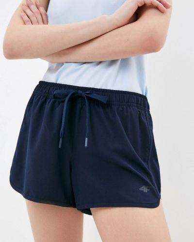 Синие спортивные шорты 4f