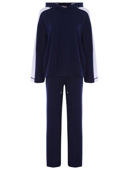 Кашемировый костюм - синий Tak.ori