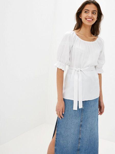Блузка с открытыми плечами белая Po Pogode