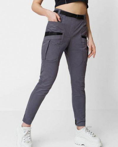 Серые брюки карго Bezet