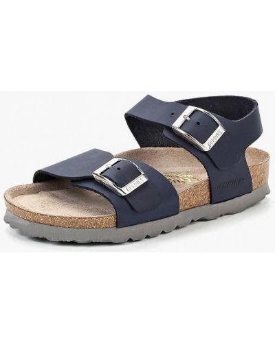 Синие сандалии Genuins