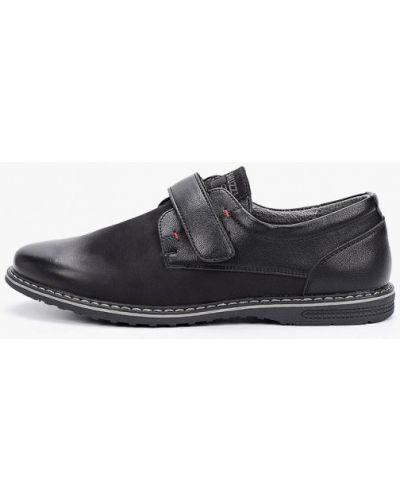 Кожаные черные туфли Shuzzi