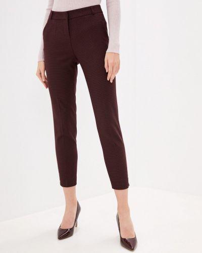 Красные зауженные брюки Calista