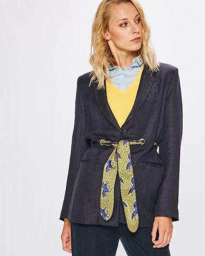 Классический пиджак с поясом в стиле кэжуал прямой Silvian Heach