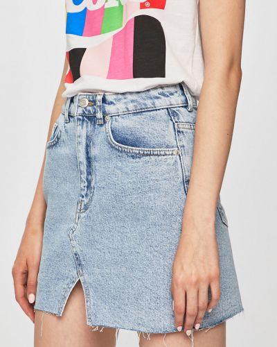 Юбка мини джинсовая на пуговицах Tally Weijl