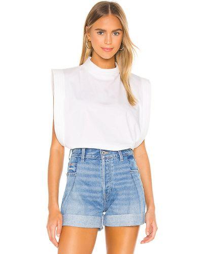 Ciepła biała koszula bawełniana Piece Of White