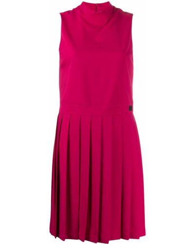 Плиссированное платье - розовое Blumarine