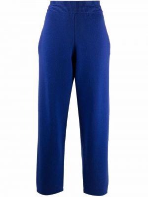 Niebieskie spodnie bawełniane Barrie