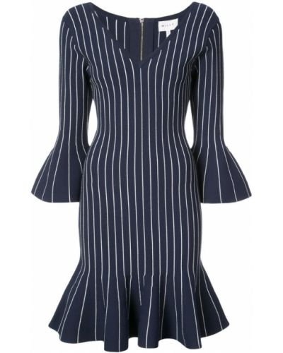 Синее платье в полоску Milly