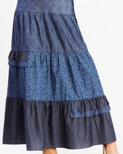 Юбка мини джинсовая макси Lacywear