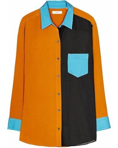 Pomarańczowa koszula Equipment
