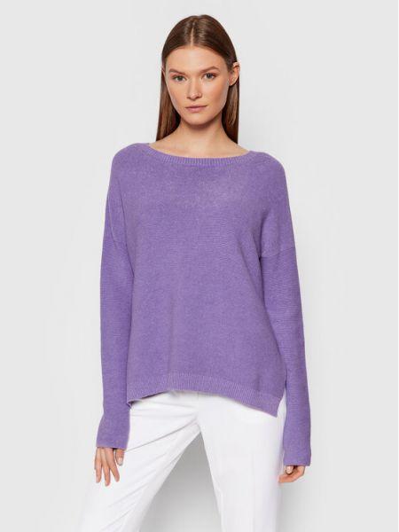 Fioletowy sweter Kontatto