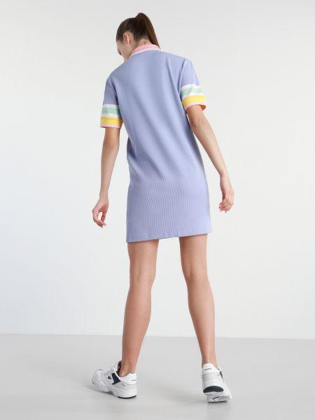 Фиолетовое платье Lacoste