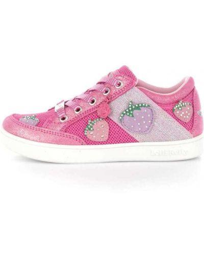 Różowe sneakersy Lelli Kelly