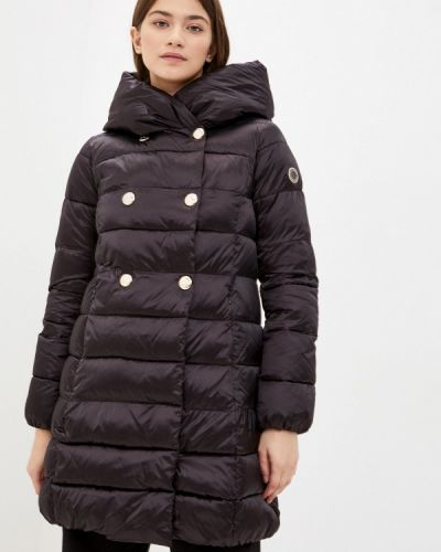Черная утепленная куртка Madzerini