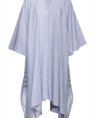 Sukienka bawełniana - niebieska Marques Almeida