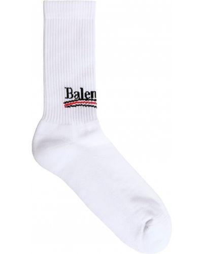 Skarpety z logo Balenciaga
