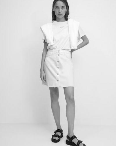 Biała spódnica vintage Marc O Polo