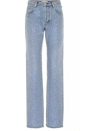 Niebieski bawełna bawełna jeansy zabytkowe Acne Studios