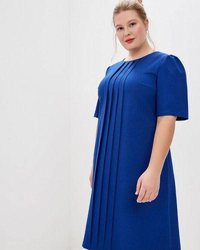 Повседневное платье синее Borboleta