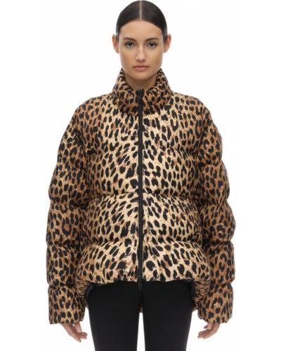 Куртка леопардовая на молнии Balenciaga