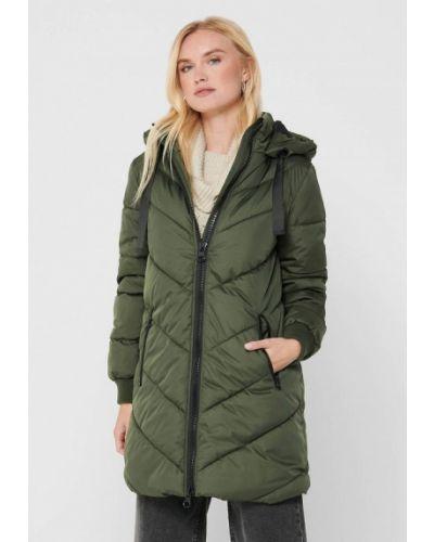 Зеленая утепленная куртка Jacqueline De Yong