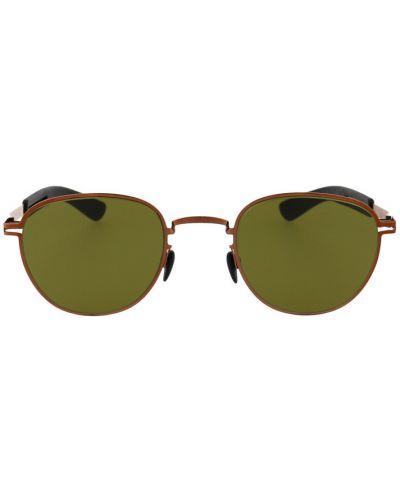Zielone okulary Mykita