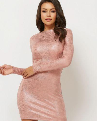 Вечернее платье розовое осеннее Verna Sebe