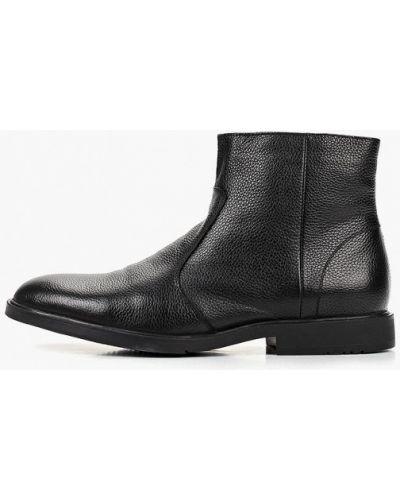 Ботинки осенние кожаные демисезонный M.shoes