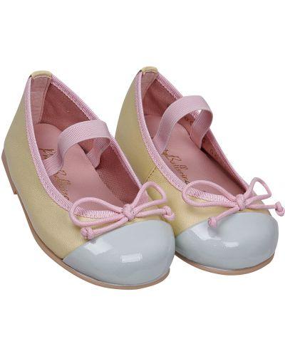 Желтые туфли Pretty Ballerinas