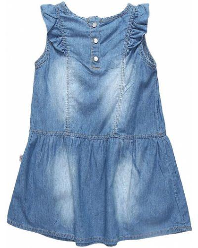 Платье хлопковое голубой Sweet Berry