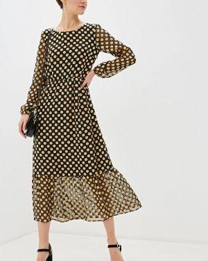 Повседневное платье осеннее черное Pennyblack