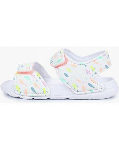 Белые сандалии Adidas