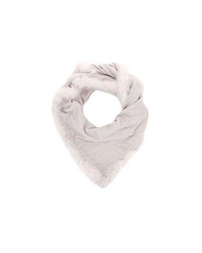Розовый шарф из вискозы Nima